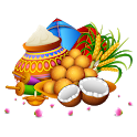 Pongal and Makar Sankranti Stickers for WhatsApp icon