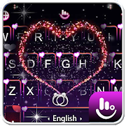 App Live 3D Sparkling Red Love Heart Keyboard Theme APK for Windows Phone