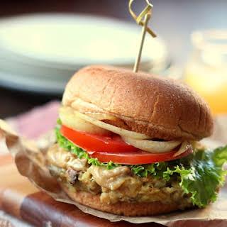 Savory Mushroom Burgers.