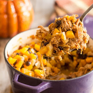 Apple & Butternut Squash Pulled Pork Casserole