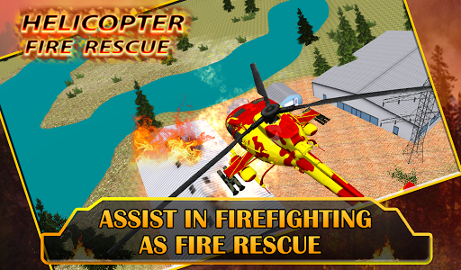 Fire Helicopter Rescue
