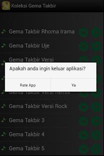 Koleksi Gema Takbir - náhled