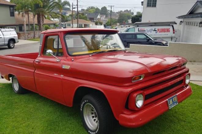 Super Clean 1965 Chevrolet Truck Hire CA