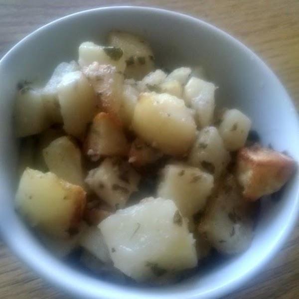Roasted Potatoes In Garlic Aioli Recipe