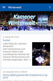 Kamener Winterwelt- screenshot thumbnail