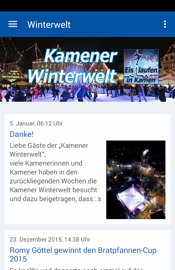 Kamener Winterwelt- screenshot