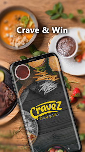 Cravez - Food Delivery - náhled