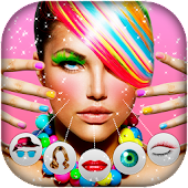 Face Makeup Photo Editor for Girls