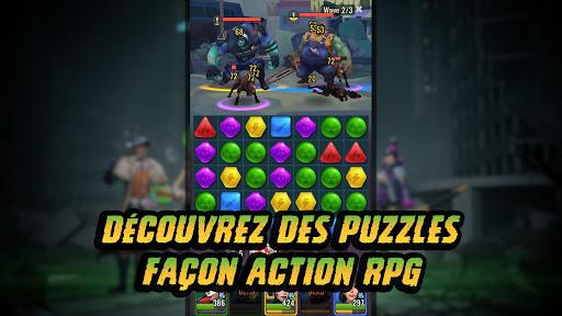 Code Triche Empires of Dead: Puzzle RPG Zombie APK Mod screenshots 1