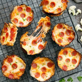 Mini Cauliflower Deep Dish Pizzas Recipe