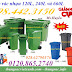 Sỉ/lẽ thùng rác nhựa 120L, 240L và 660L giá siêu rẻ, giảm giá sốc call 0984423150 - Huyền