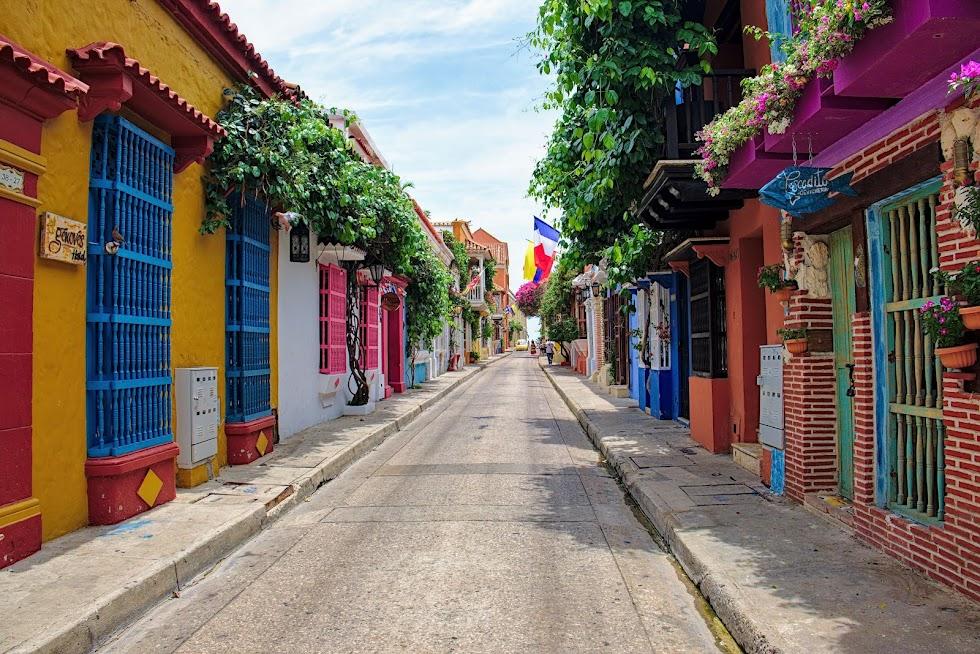 Cartagena uliczki