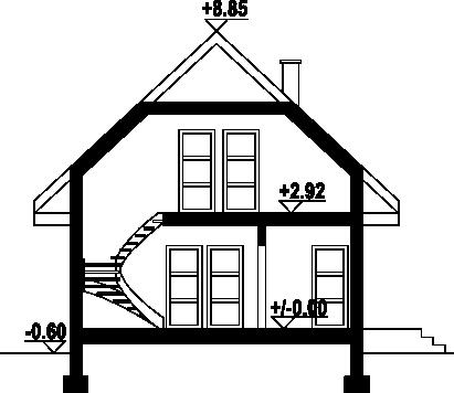 Zawoja 33dwsg - Przekrój