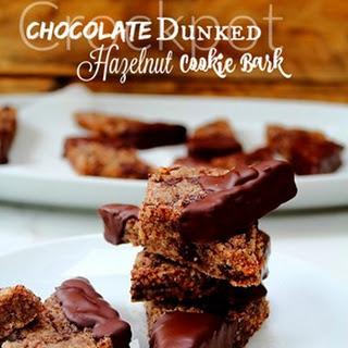 Hazelnut Chocolate Chunk & Dunked Cookie Bark Recipe
