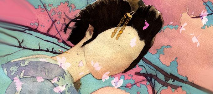Noppera-Bō como una mujer sin rostro, aunque estos tambien pueden apatar una forma masculina segun lo deseen.