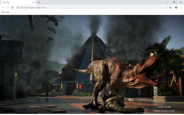 Jurassic World Evolution New Tab
