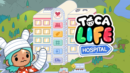 Toca Life: Hospital Apps for Android screenshot