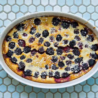 Julia Child's Berry Flan
