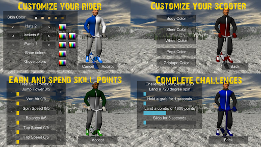 Snowscooter Freestyle Mountain 1.09 Mod screenshots 4