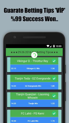 Vip %99 Guarantee Betting Tips screenshot