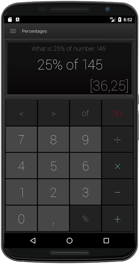 MC Calculator- screenshot