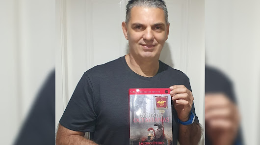 Jacobo Otero inicia una nueva saga literaria