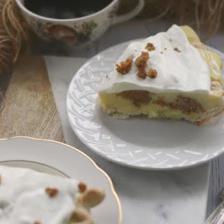 Muffin Bottom Pudding Pie.