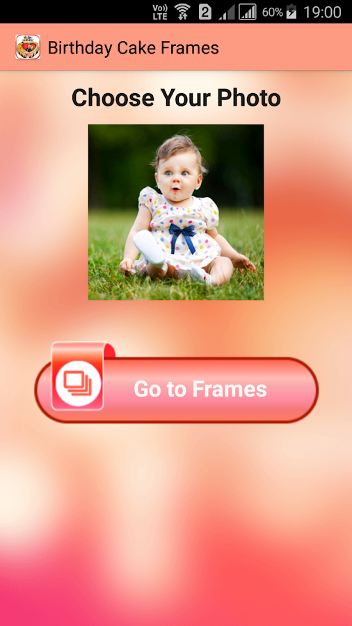 Birthday Cake Photo Frames- screenshot