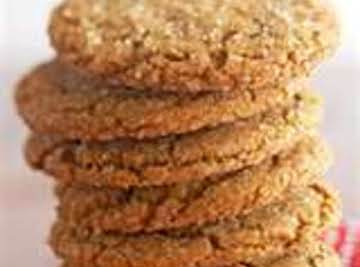 """GIANT GINGER SNAP COOKIES"""
