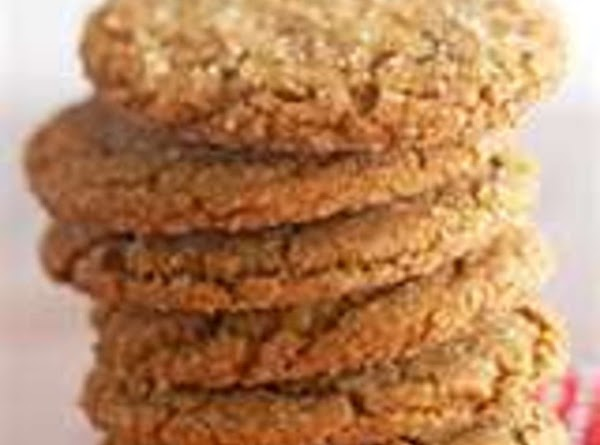 Giant Ginger Snap Cookies Recipe