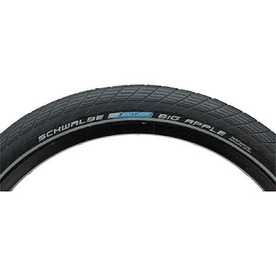 "Schwalbe Big Apple Tire: 20 x 2.00"", Wire Bead, Performance Line, Endurance  Compound, RaceGuard"