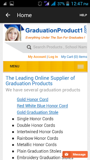 Buy Graduation Stoles Cords