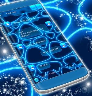Neon Blue SMS - náhled