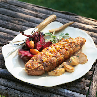 Pork Tenderloin Stuffed with Caramelized Onions and Apples Recipe