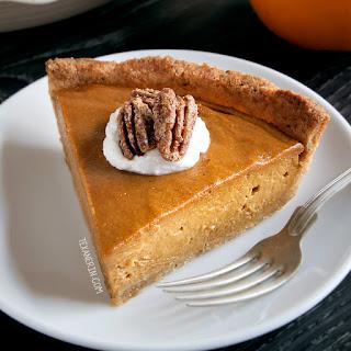 Paleo Vegan Pumpkin Pie