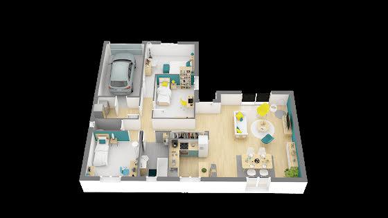 Vente maison 4 pièces 92,38 m2