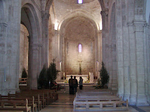Photo: The interior of St. Anne's Church.  Over the years, the site has been controlled by both Christians and Muslims.