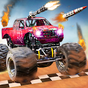 Monster Truck Death Race 2019: Car Shooting Games