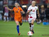 """Oranje Leeuwin Jackie Groenen supportert voor ... Rode Duivels: """"Heb het een beetje beloofd"""""""