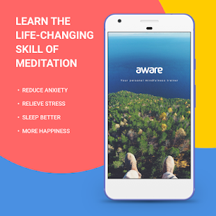 Aware - Mindfulness Meditation- screenshot thumbnail