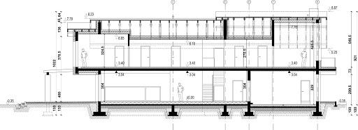 New House 21 - Przekrój