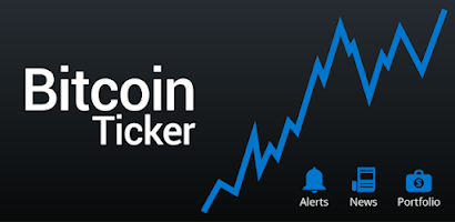 widget ticker bitcoin pentru Android