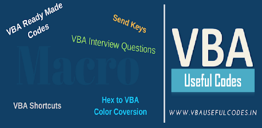 VBA Useful Codes - Apps on Google Play