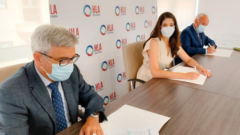 HLA Mediterráneo y Neuroal firman un acuerdo pionero en la provincia para pacientes con daño cerebral.