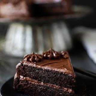 Gluten-free Chocolate Zucchini Cake.