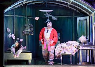 Photo: Salzburger Osterfestspiele 2015: I PAGLIACCI. Premiere 28.3.2015, Inszenierung: Philipp Stölzl. Maria Agresta, Dimitri Platanias. Copyright: Barbara Zeininger