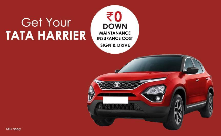 Car Subscription Offer On Tata Cars with Attractive EMIs