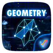 Geometry 3D V Launcher Theme