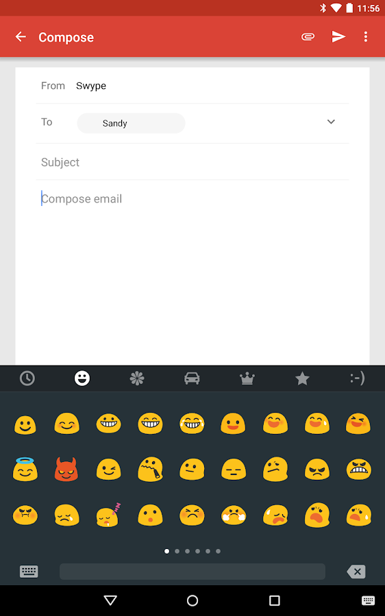 Swype Keyboard- screenshot