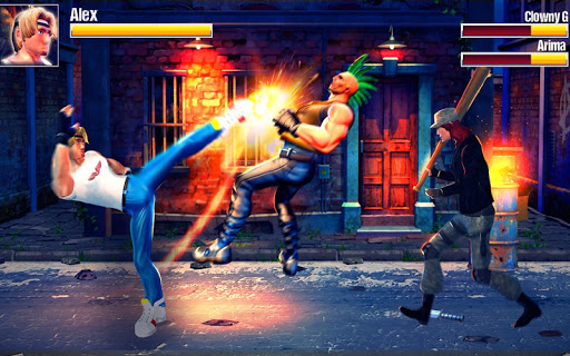 Rage Fight of Streets - Beat Em Up Game 28 screenshots 2